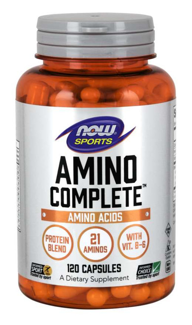 Now Foods Amino Complete 120 or 360 Capsules #0011