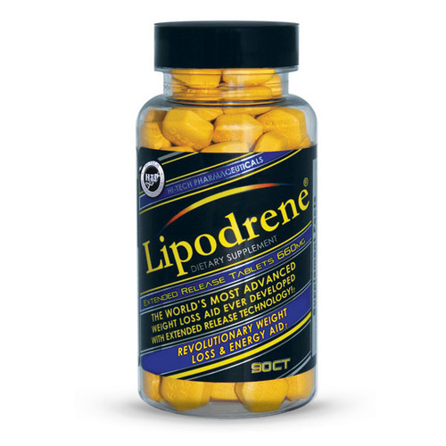 Hi Tech Pharmaceutical Lipodrene Ephedra Free 90 Tablets