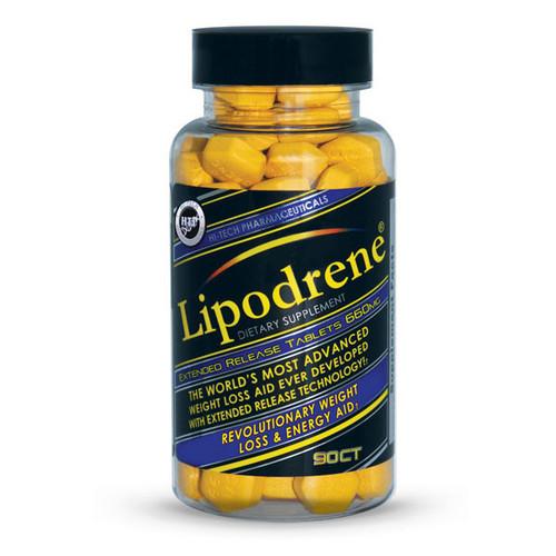 Hi Tech Pharmaceutical Lipodrene Ephedra Free 90 Tablets