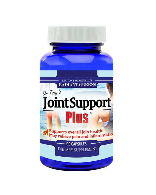Dr. Tony's Joint Support Plus 90 Capsules, Dr. Tony's Joint Support Plus capsules are ideal for before and after workouts or strenuous activity to maintain optimal flexibility, Supports overall joint health, May relieve pain and inflammation