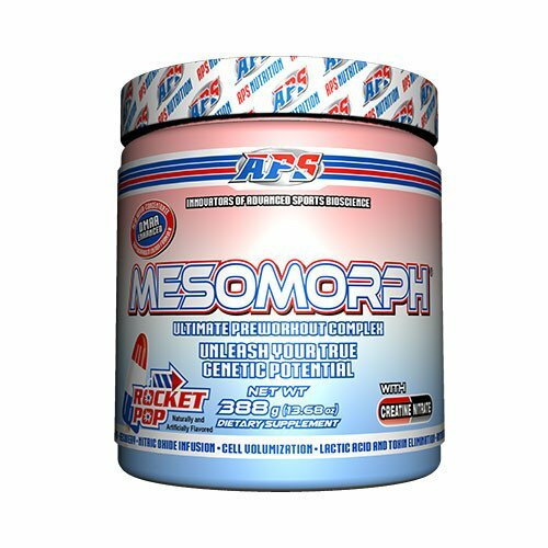 APS Mesomorph Tutti Frutti, Tropical, Rocket Pop,Watermelon  388g
