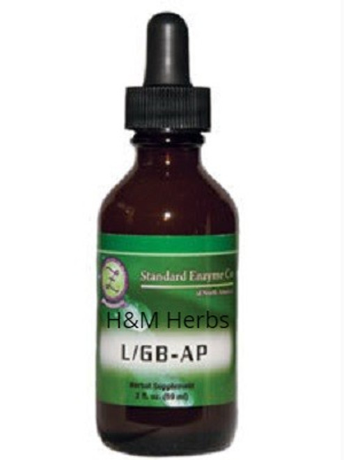 Standard Enzyme L/GB - AP 4oz, Supports: Provides support to the liver and gallbladder while also supporting the body's defense against various types of parasites.