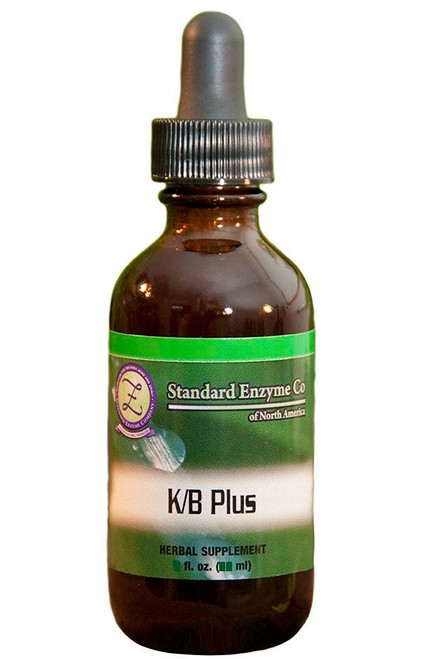Standard Enzyme K/B Plus 4oz, Provides support to the kidneys, bladder, and urinary system.