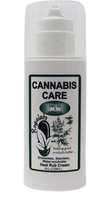 Cannabis Care Cream 8oz, regal labs cbd oil, regal labs cannabis care cream, cannabis care heat rub cream, hemp cream for arthritis, inmotion hemp pain cream, canna hemp pain relief cream