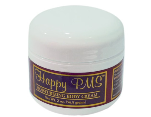 Happy PMS Moisturizing Body Cream Jar 2oz
