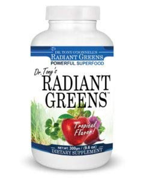 Dr. Tony's Radiant Greens Tropical 9.6oz