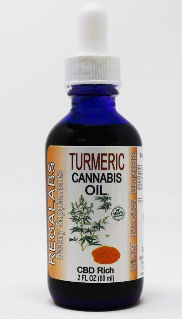 Regal Labs Turmeric Cannabis Oil 2oz
