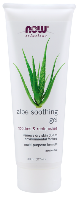 Now Foods Aloe Soothing Gel 8oz, Renews Dry Skin Due to Environmental Factors, Multi-Purpose Formula Condition: Skin that has been exposed to harsh environmental factors.
