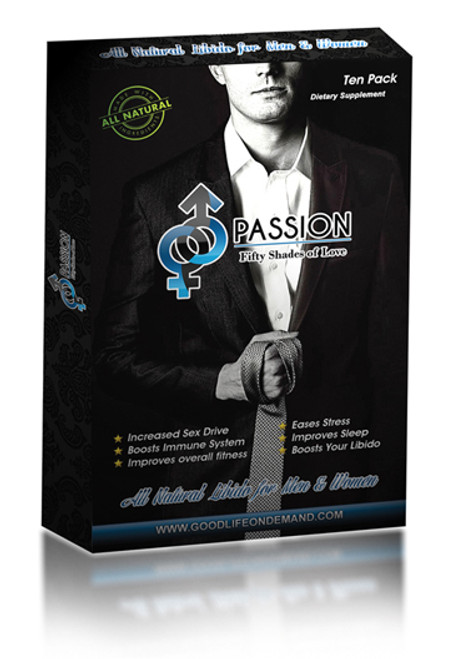 Passion For Male Sexual Enhancement 10 Capsules, increase Sex Drive, Maximize Performance, Naturally Longer, Thicker, Stronger Erections,  Increase Stamina, Boosts Sexual Desire & Libido, Explosive orgasm,  No premature ejaculation, 100% Pure, Natural, Effective and safe.