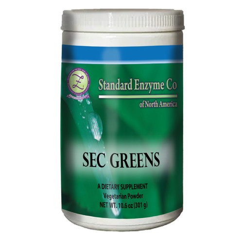 Standard Enzymes SEC Greens 10.4oz, Provides support for all major systems of the body. Vitamin and mineral replenishment designed to take in daily smoothie.