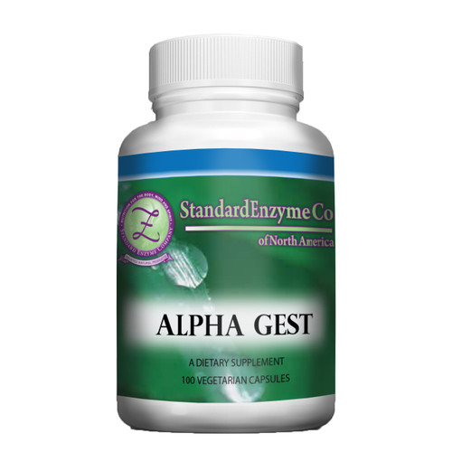 Standard Enzyme Alpha Gest 100 Capsules, Supports: Provides support for proper digestion in the stomach.