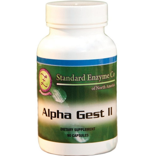 Standard Enzyme Alpha Gest II 120 Capsules, Supports: Provides support for proper digestion and helps support the stomach lining.