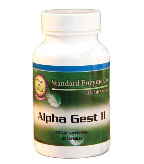 Standard Enzyme Alpha Green ll 90 Capsules, Supports: Green vegetable concentrate with trace minerals. An alkalizing combination.