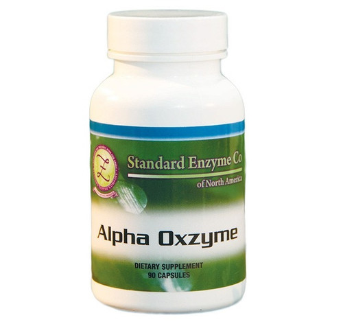 Standard Enzyme Alpha Oxzyme 120 Capsules, Provides nutritional support to help cleanse free radicals from the body.