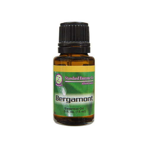 Standard Enzyme Bergamot .5oz, witrus, spice, floral, typically used to soothe, calm, elevate mood, promotes clear skin.