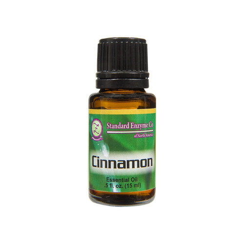 Standard Enzyme Cinnamon .5oz, slightly strong, sweet, wood, and spice,  immune system, aid circulation, relieve sore muscles, joints, season  edibles.