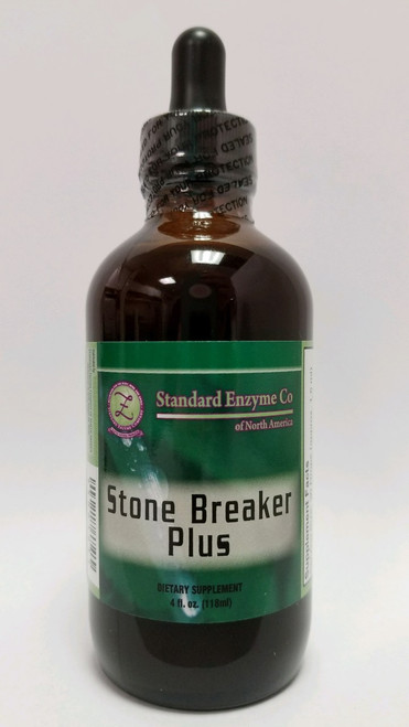 Standard Enzyme Stonebreaker Plus 4oz Liquis, Improves kidney stones, gallstones & bone spurs and is also a powerful anti-viral and liver protectant.