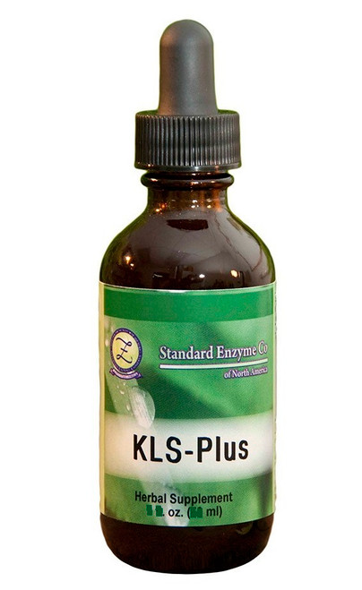 Standard Enzyme KLS Plus  4oz, An herbal drainer that supports the kidneys, liver, and spleen.
