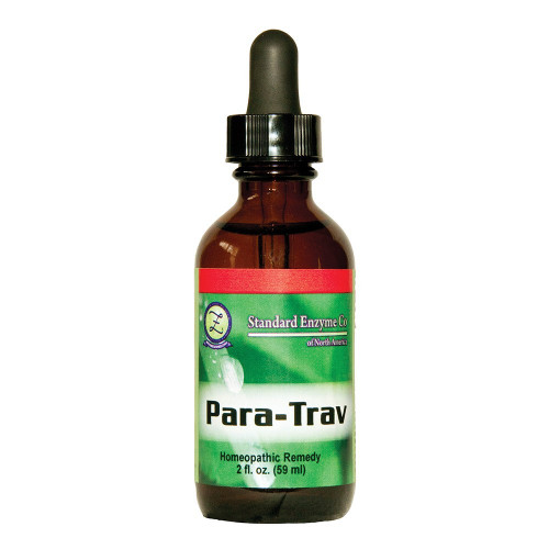 Standard Enzyme Para-Trav 2oz, Provides support for the body's immune defense mechanism against protozoan infections.