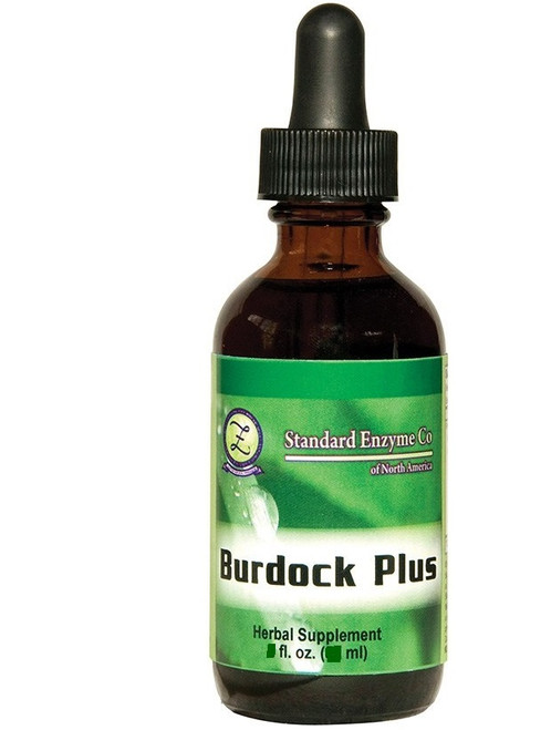 Standard Enzyme Burdock Plus 4oz, Supports: Provides support for the circulatory, excretory, and immune systems, while also promoting healthier skin.