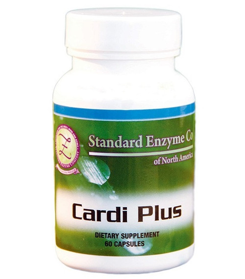 Standard Enzyme Cardi Plus 100 Capsules, Supports: Has specific nutrition to support the heart.