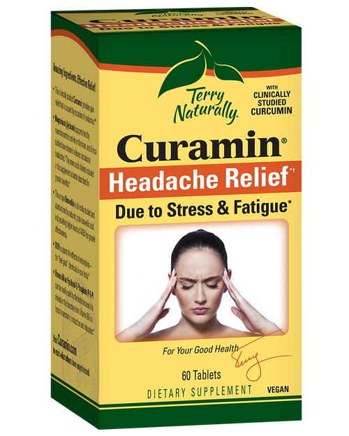 Terry Naturally Curamin Headache Relief  60 Tablets