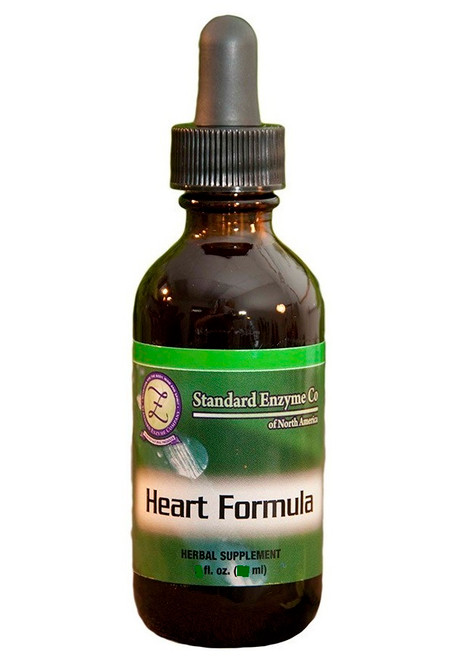 Standard Enzyme Heart Formula 4oz, Supports: May support cardiovascular health.