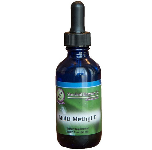 Standard Enzyme Multi-Methyl-B 2oz, Support: Provides support for the autonomic nervous system, and adrenal glands.