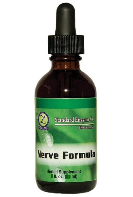 Standard Enzyme Nerve Formula 4oz, Supports: May support healthy sleep and well-being.
