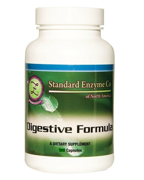 Standard Enzyme Digestive Formula 120 Capsules, Supports: Provides support for the digestive system with added enzymes.