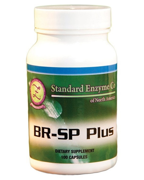Standard Enzyme BR-SP Plus 100 Capsules, Supports: Provides support for the digestive and immune systems.
