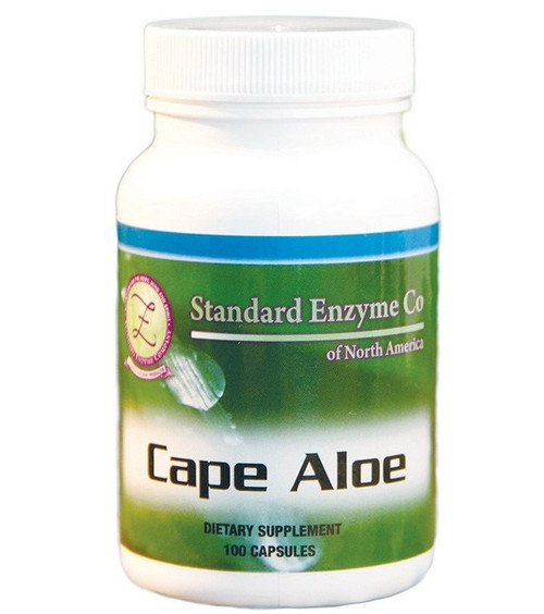 Standard Enzyme Cape Aloe 100 Capsules, Supports: Provides support for the digestive system.