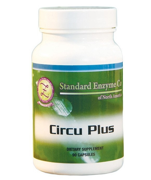 Standard Enzyme Circu Plus 90 Capsules, Supports: Provides support for the cardiac system.
