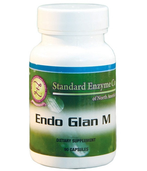 Standard Enzyme Endo Glan M 90 Capsules, Supports: Provides support for the male endocrine system.