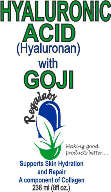 Regalabs Hyaluronic Acid with Goji Extract 8oz
