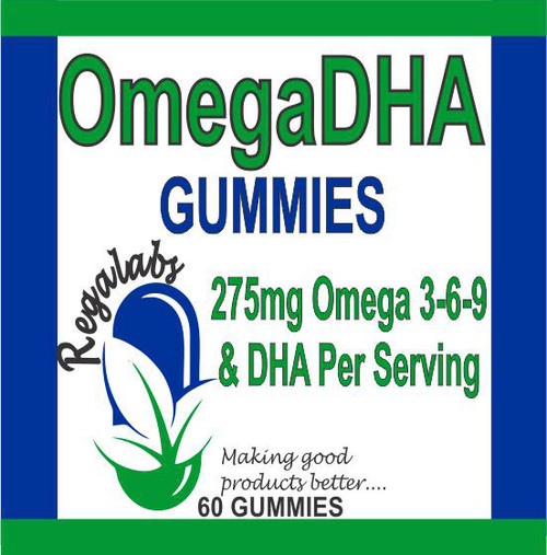 Regalabs OmegaDHA Gummies 60 Count