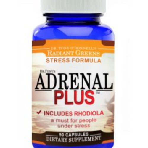 Dr. Tony's Adrenal Plus 90 Capsules, The ingredient Ashwagandha shows great promise for being effective in reducing inflammation, decreasing stress, increasing mental activity, invigorating the body, and act as an antioxidant. Assists with balancing blood sugar levels and may be beneficial to people with insulin resistance.