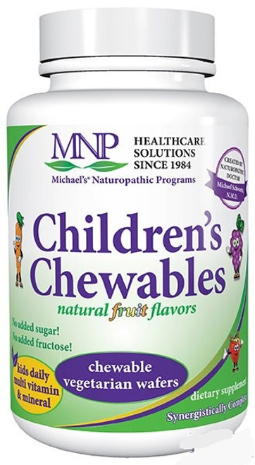 Michael's Factors Children's Chewables Daily Multi-Vitamin 60 Chewable Tablets #04631 Or 120 Chewable Tablets #04632