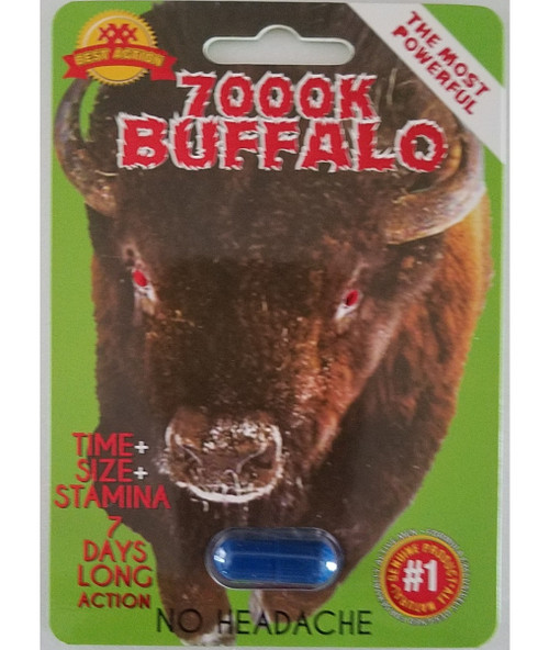 7000 Buffalo Male Enhancement 1 Pill