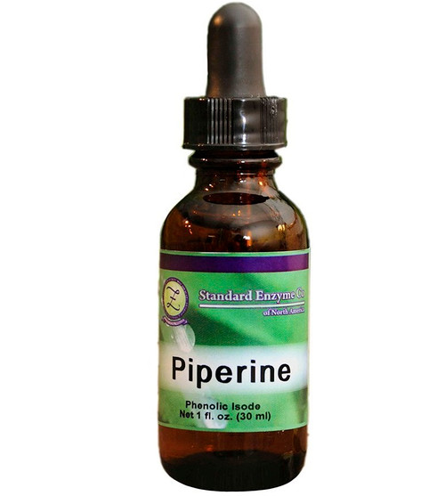Standard Enzyme Piperine 1oz Liquid
