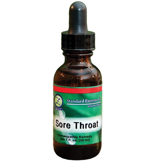 Standard Enzyme Sore Throat 1oz Liquid