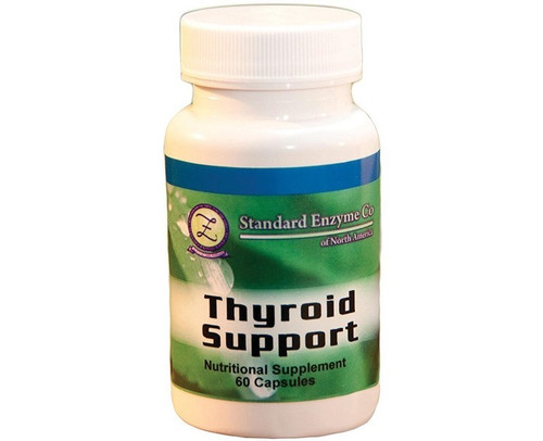 Standard Enzyme Thyroid Support 60 Capsules