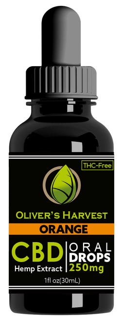 Oliver's Harvest -Tincture Orange  250 mg 1oz