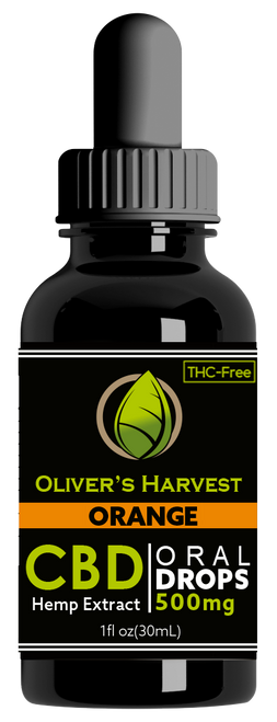 Oliver's Harvest -Tincture Orange 500 mg 1oz