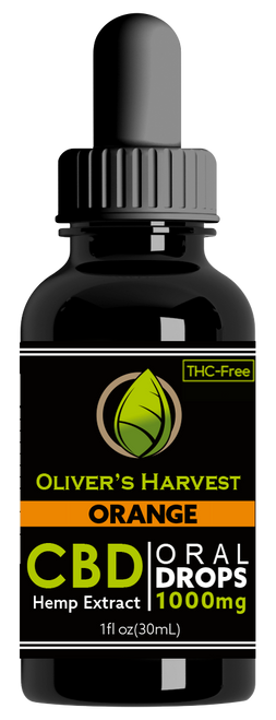 Oliver's Harvest Tincture Orange 1000 mg