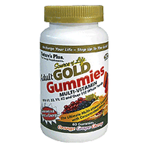 Nature's Plus Source of Life GOLD Adult Multi 60 Gummies