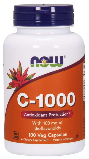 Now Foods Vitamin C-1000, 100 Veg Capsules