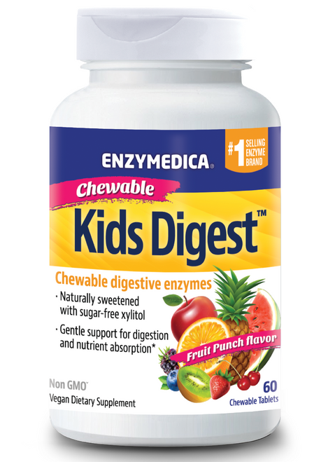 Enzymedica Kids Digest Chewable 60 Tablets