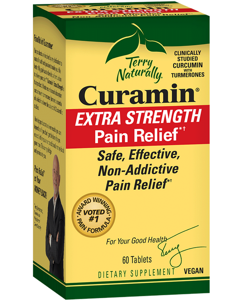 Terry Naturally Curamin Extra Strength Pain Relief 60 Tablets