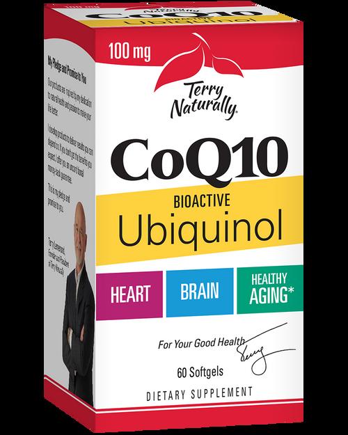 Terry Naturally CoQ10 Bioactive Ubiquinol 100mg 60 Softgels